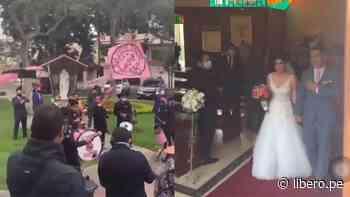Boda rosada: Hinchas de Sport Boys sorprenden a recién casados en su matrimonio - Libero.pe