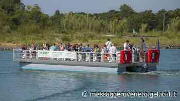 Sull'acqua con la bici da Lignano a Bibione Riparte il passo barca - Il Messaggero Veneto