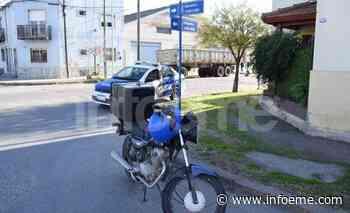 Villa Floresta: chocó a un motomandados y se fugó - Infoeme