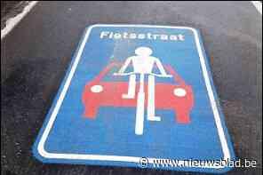 Antwerpse politie controleert in fietsstraten - Het Nieuwsblad