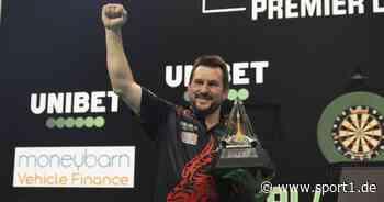 Darts, Premier League: Clayton im Finale - Van Gerwen raus - de Sousa vs. Aspinall - SPORT1