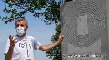 Via Matildica del Volto Santo, inaugurata la stele a Canossa - Luccaindiretta - LuccaInDiretta