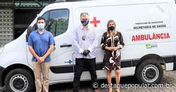 Deputado Federal Delegado Antonio Furtado entrega ambulância em... - Destaque Popular