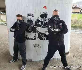 Illegales Graffiti? Tina Schüssler auf Wand gesprüht - Ebersbach an der Fils - myheimat.de