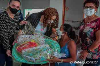 """Grávidas de Jaru e Ouro Preto do Oeste são contempladas com kits enxoval do programa estadual """"Mamãe Cheguei"""" - Defesa - Agência de Notícias"""