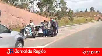 Motociclista cai em rodovia, em Campo Limpo Paulista | JORNAL DA REGIÃO - JORNAL DA REGIÃO - JUNDIAÍ
