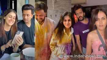 Super funny videos of Riteish Deshmukh, Genelia that will make you ROFL | WATCH - India TV News
