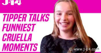 'Cruella' Star Tipper Seifert-Cleveland Talks Funny On-Set Moments - J-14