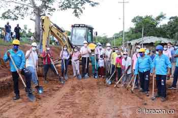 En marcha trabajos de construcción de placa huella en Guateque, Montería - LA RAZÓN.CO
