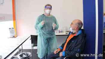 Kaum noch positive Tests im Testcenter in Frankenberg - HNA.de