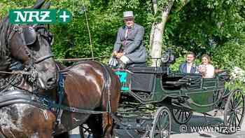 Mit der NRZ-Hochzeitskutsche zur Trauung im Haus Voerde - NRZ News