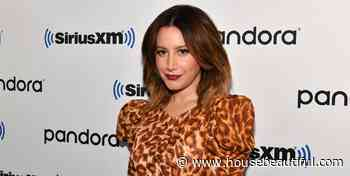 Ashley Tisdale Shared a Photo of One of Her Relaxation Stations and It's All the Zen We Need - HouseBeautiful.com