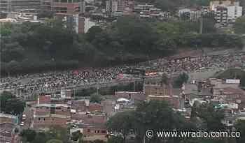 En disturbios y desmanes terminaron las manifestaciones de Floridablanca - W Radio