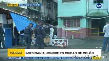 Se reporta un nuevo homicidio en Colón, el segundo durante el fin de semana - TVN Noticias
