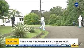 Sigue la ola de violencia en Colón, se registra un nuevo asesinato - TVN Noticias