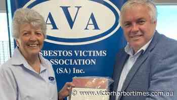 Asbestos victims volunteers recognised - Victor Harbor Times