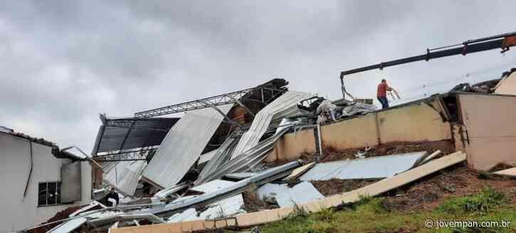 Tornado atinge município de Campos Novos, em Santa Catarina, com ventos de 123 km/h - Jovem Pan