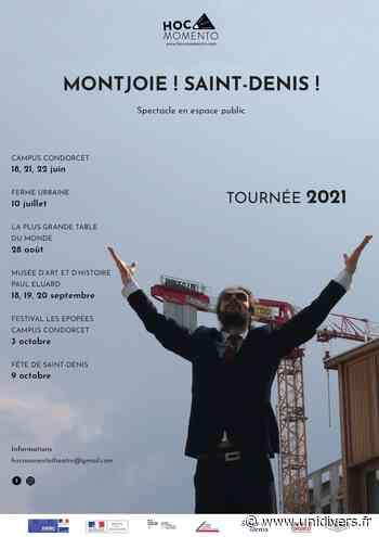 « Montjoie! Saint-Denis! » Campus Condorcet vendredi 18 juin 2021 - Unidivers