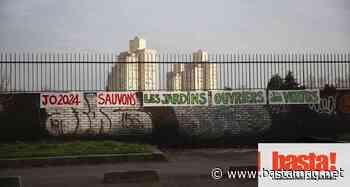 « Face au béton, les JAD d'Aubervilliers » : appel à occuper les jardins ouvriers en danger imminent - Basta !