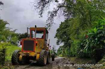 Comité de Cafeteros del Quindío inicia rehabilitación de vías rurales de Filandia - El Quindiano S.A.S.