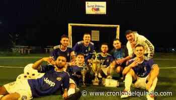 Atlético Filandia campeón del torneo de microfútbol - La Cronica del Quindio