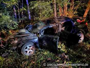 Drei Verletzte nach Unfall bei Neunkirchen - Blaulichtreport-Saarland