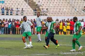 Governor Bello Mesmerizes Okocha, Kanu, Rufai as Super Eagles Legends Storm Lokoja for Football Match ▷ Legit.ng - Legit.ng
