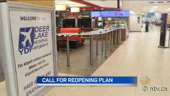 Deer Lake airport pleads for province to release reopening plan - ntv.ca - NTV News