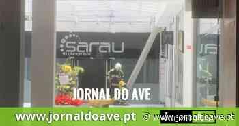 Incêndio no S.Bento Shoping em Santo Tirso - Jornal do Ave