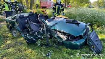Mann bei Autounfall in Neuenkirchen wohl lebensgefährlich verletzt - noz.de - Neue Osnabrücker Zeitung