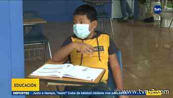 Niños de altos de Pedregal que están entusiasmados con el próximo regreso a clases semipresenciales - TVN Panamá