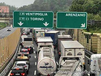 Incidente sulla A10, 4 km di coda tra Voltri e Varazze (direzione Savona) - Cronache Ponentine