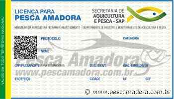 Como solicitar a licença de pesca amadora SAP/MAPA no portal Gov.br - Portal Pesca Amadora Esportiva