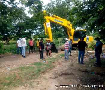 Arranca adecuación de vías en Arenal del norte - El Universal - Colombia