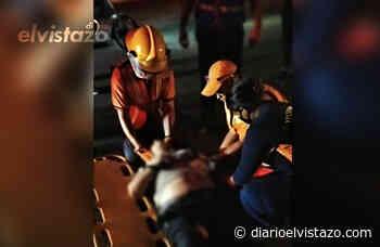 Motorizados lesionados en accidente fueron trasladados a San Tomé por ausencia de personal en hospital de El Tigre - Diario El Vistazo