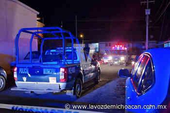 Joven muere en el hospital tras ser baleado en el Infonavit Arboledas Primera Sección, en Zamora - La Voz de Michoacán