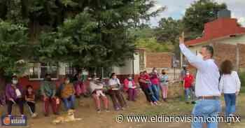 Trabajaré por Zacapu y su gente: Luis Felipe León Balbanera - El Diario Visión