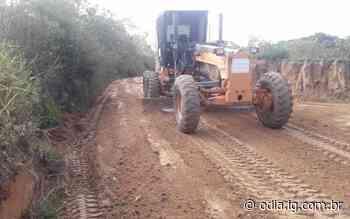 Estrada que liga Saquarema e Rio Bonito recebe manutenção - Jornal O Dia
