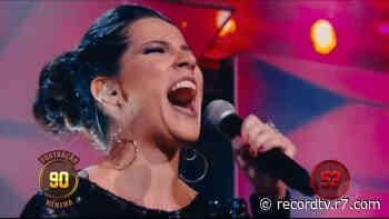 Marilia Nunes se destaca pela presença de palco - Record TV