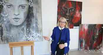 Die Künstlerin Monika Roser aus Pfinztal malt im Lockdown weiter - BNN - Badische Neueste Nachrichten