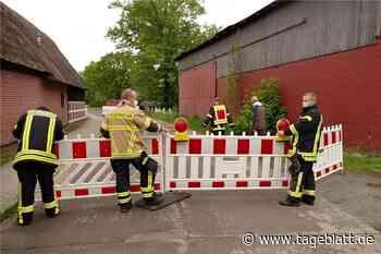 Feuerwehr muss marode Scheune in Kranenburg sichern - Blaulicht - Tageblatt-online