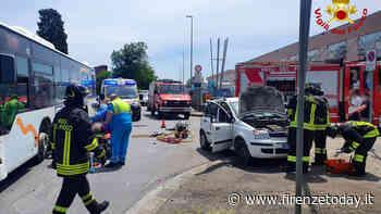 Grave incidente: auto contro autobus in Via degli Olmi - FirenzeToday