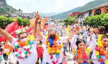Octavio Pedroza cierra campaña en Tamazunchale - Plano informativo