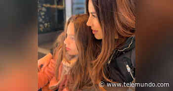 Hija de Gaby Espino recibe el sacramento de la confirmación - Telemundo
