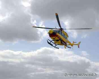 Lacanau : trois personnes secourues par hélicoptère à la plage sud - Sud Ouest