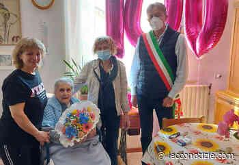 Calolziocorte | La signora Clotilde Bresciani compie 100 anni - Lecco Notizie