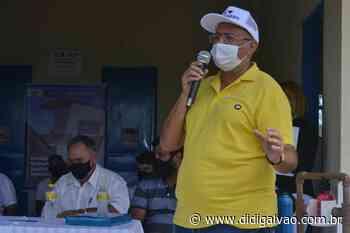 Parnamirim-PE: Prefeito Nininho faz entrega de 40 banheiros na comunidade de Maxixe - Blog do Didi Galvão