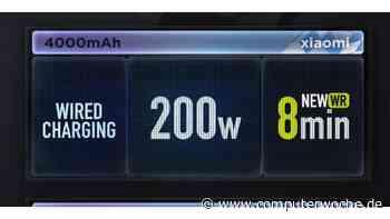 Weltrekord: Xiaomi lädt 4.000-mAh-Akku in 8 Minuten