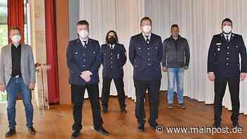 Aub Volker Zeitz führt nun die Auber Feuerwehr - Main-Post
