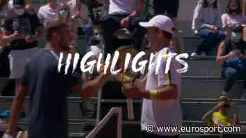 French Open 2021 tennis - Highlights: Roberto Bautista Agut cruises past Mario Vilella Martinez in P - Eurosport.com